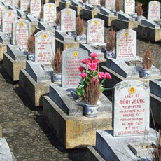 Truong Son cemetry