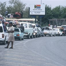 Zimbabwe Beit Bridge border crossing