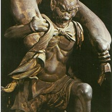 Nembutsu-ji - god of wind